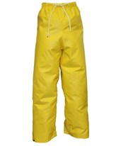 Flame Resistant Yellow Pants with Plain Front P56007.SM