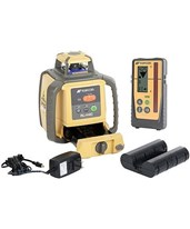 Topcon RL-H4C Horizontal Self-Leveling Rotary Laser w/ LS-100D Receiver & Rechargeable Battery 57176 313650702