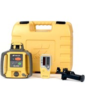 Topcon RL-H4C Horizontal Self-Leveling Rotary Laser w/ LS-80L Laser Receiver & Alkaline Battery 57177 313650752