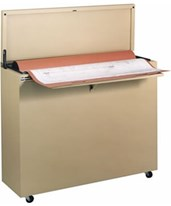 Ulrich Fire Resistant High-Density Vertical Minifile 6024