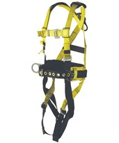 Ultra-Safe Ironworker's Full Body Harness with Back Pad and Tool Belt 96305WS
