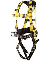 Ultra-Safe Ironworker's Harness with Mini-X Back Pad 96396BQLMX