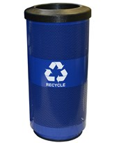 Witt Industries Stadium Recycling Waste Receptacle SC20-01-RC-BL