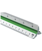 Series High Impact Plastic Metric Triangular Scale 742PM