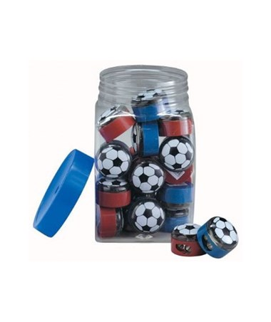 Alvin Soccer Pencil Sharpener Display with 32 Sharpeners 0355ND