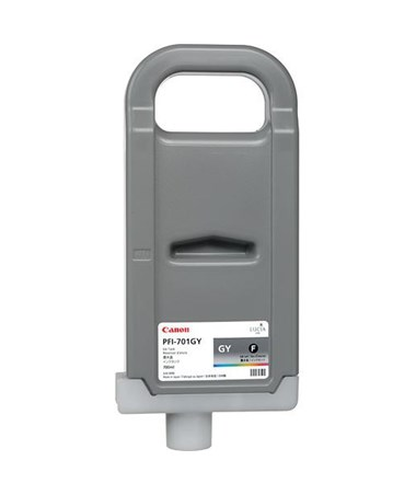 Canon PFI-701GY Gray Pigment Ink Tank 0909B001AA