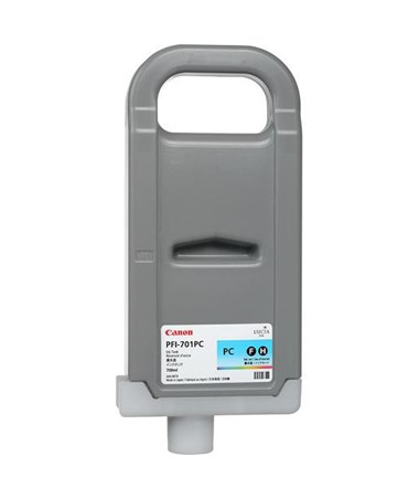 Canon PFI-701PC Photo Cyan Pigment Ink Tank 0904B001AA