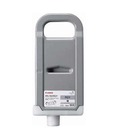 Canon PFI-701PGY Photo Gray Pigment Ink Tank 0910B001AA