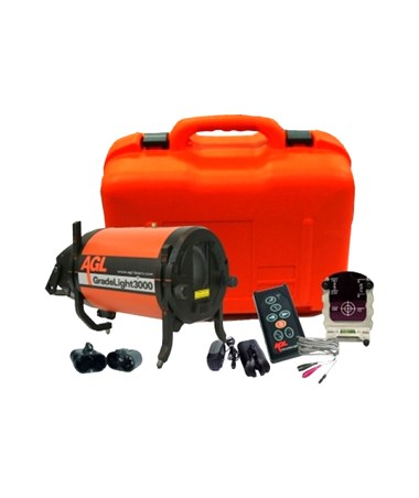 AGL GradeLight GL3000 Pipe Laser Package