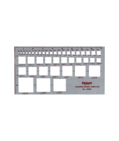 Alvin Pickett Squares Template 1205I