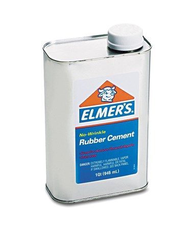 Elmer's 1 gal. No-Wrinkle Rubber Cement 234