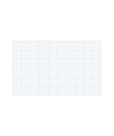 Alvin Cross Section Paper With 10 x 10 Grid (Qty. 50 Sheets) 1422-50