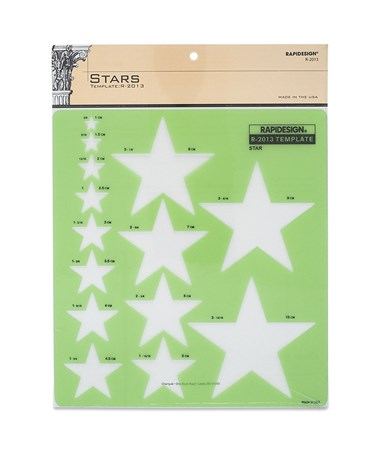 Rapidesign Star Template 2013R