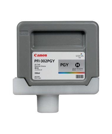 Canon PFI-302PGY Photo Gray Pigment Ink Tank 2218B001AA