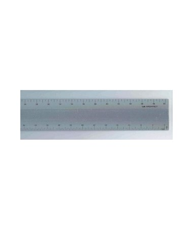 Alumicolor Series L2R Aluminum Scale 3136-1