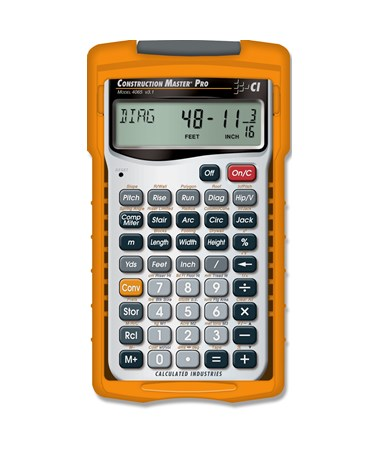 Calculated Industries Construction Master Pro Calculator