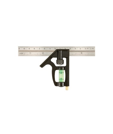 Johnson Level Heavy Duty Professional Stainless Steel Combination Square 406EM-S-