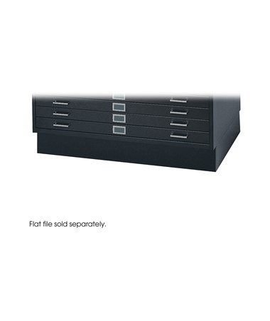 Safco Low Closed Base For Steel Flat Files SAF4995BLR-