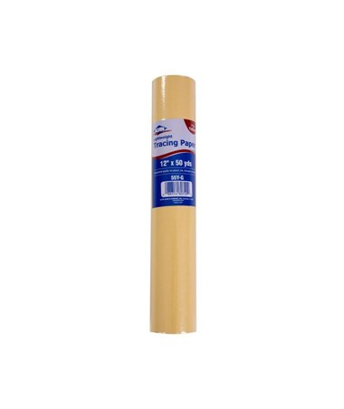 Alvin Lightweight Tracing Paper Roll 55Y-A