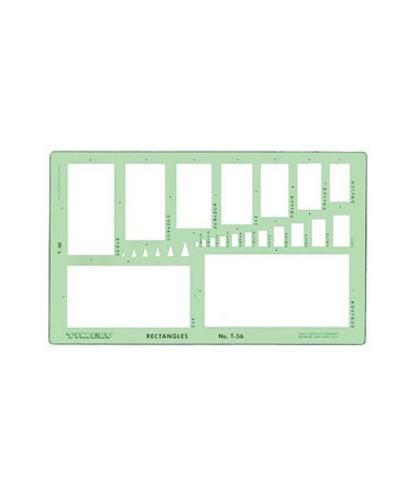 Timely Rectangles Template 56T