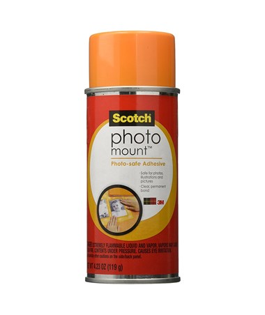 Scotch Photo Mount Spray Adhesive 60900