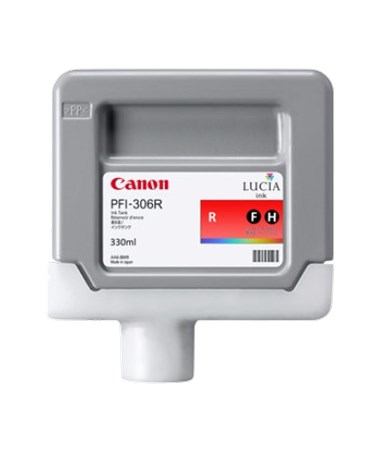 Canon PFI-306R Red Pigment Ink Tank 6663B001AA