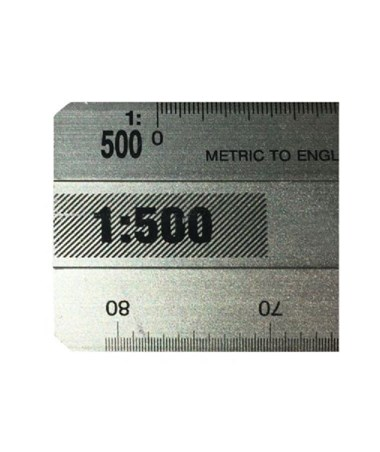 Alvin 764 Series English / Metric Mechanical Draftsmen Flat Scale 764PM