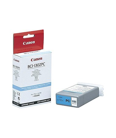 Canon BCI-1302PC Photo Cyan Dye Ink Tan 7721A001AA