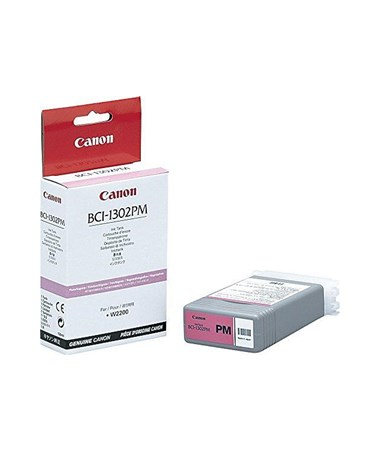 Canon BCI-1302PM Photo Magenta Dye Ink Tank 7722A001AA