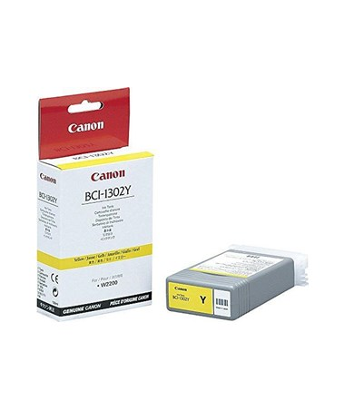 Canon BCI-1302Y Yellow Dye Ink Tank 7720A001AA