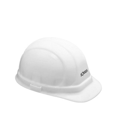 Surveyor's Safety Hat, White