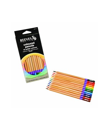Reeves Colored Pencil 12-Color Set 8910112