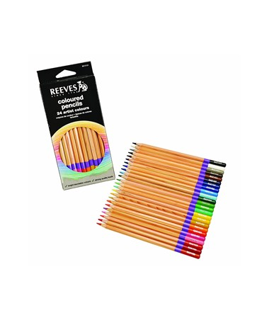 Reeves Colored Pencil 24-Color Set 8910124