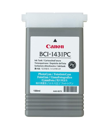 Canon BCI-1431PC Photo Cyan Pigment Ink Tank 8973A001AA