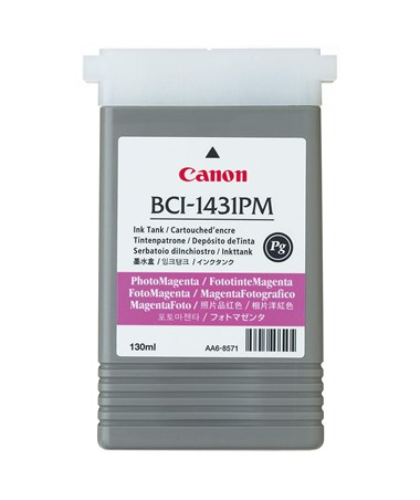 Canon BCI-1431PM Photo Magenta Pigment Ink Tank 8974A001AA