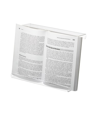 AdirSports Acrylic Treadmill Book Holder
