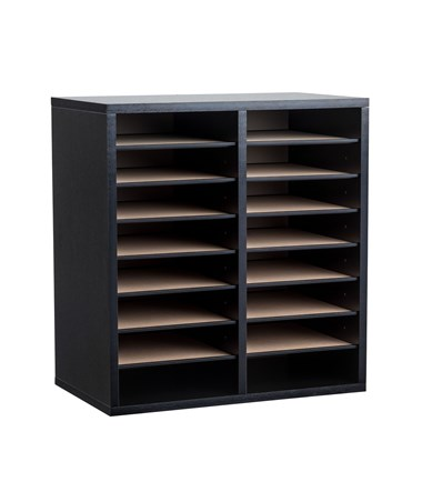 16 Compartments - Black