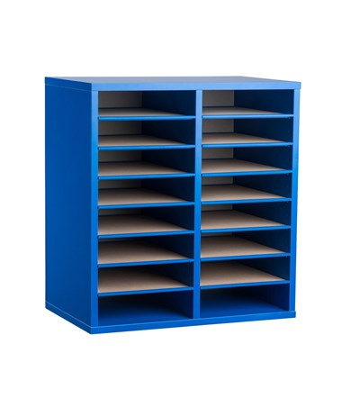 16 Compartments - Blue