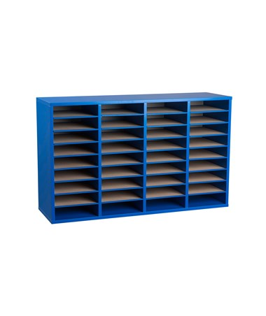 36 Compartments - Blue