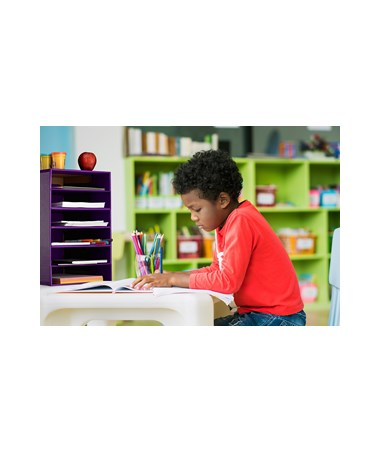 AdirOffice 6-Shelf Organizer for Schools and Offices