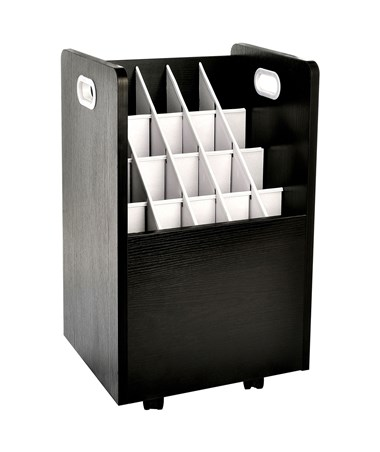 AdirOffice Mobile Wood Roll File ADI624-