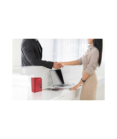 AdirOffice Large Key Drop Box Red 631-12-RED