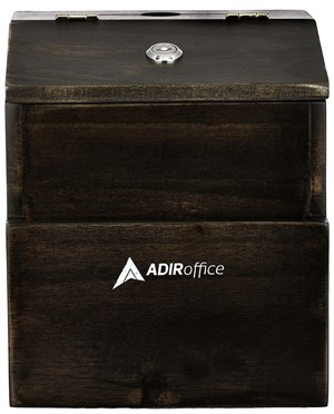 AdirOffice Rustic Suggestion Box with Lock