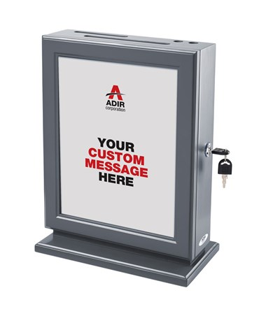 Adir Customizable Wood Suggestion Box -