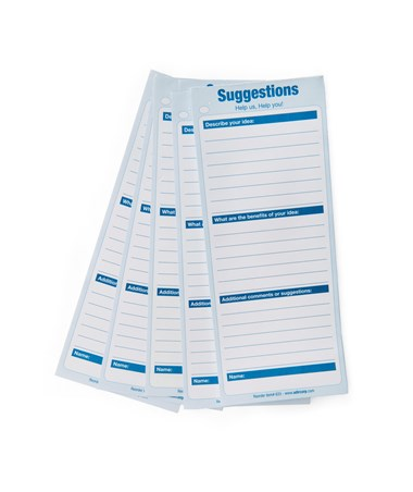 AdirOffice 633 Refill Suggestion Box Cards ADI633