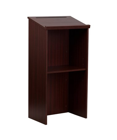 AdirOffice Lectern with Adjustable Shelf and Pen/Pencil Tray ADI661-01