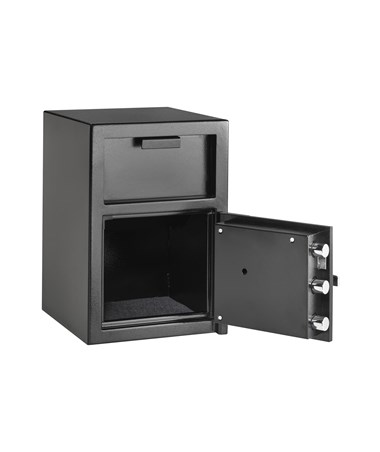 "AdirOffice 20""H Hopper Loading Safe for Home and Offices 670-400-01"
