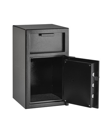 "AdirOffice 24""H Hopper Loading Safe for Home and Offices 670-400-02"