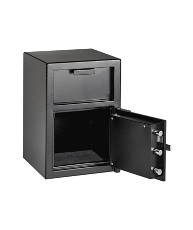 AdirOffice Drop-Hopper Office Safe with 2 Keys 670-900-01