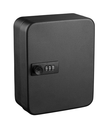 AdirOffice Secure 30 Key Cabinet with Combination Lock ADI682-30-BLK